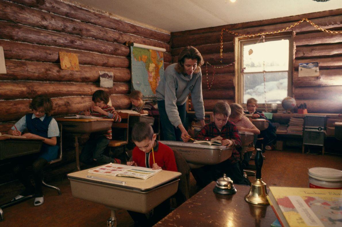 Escuela en Alaska