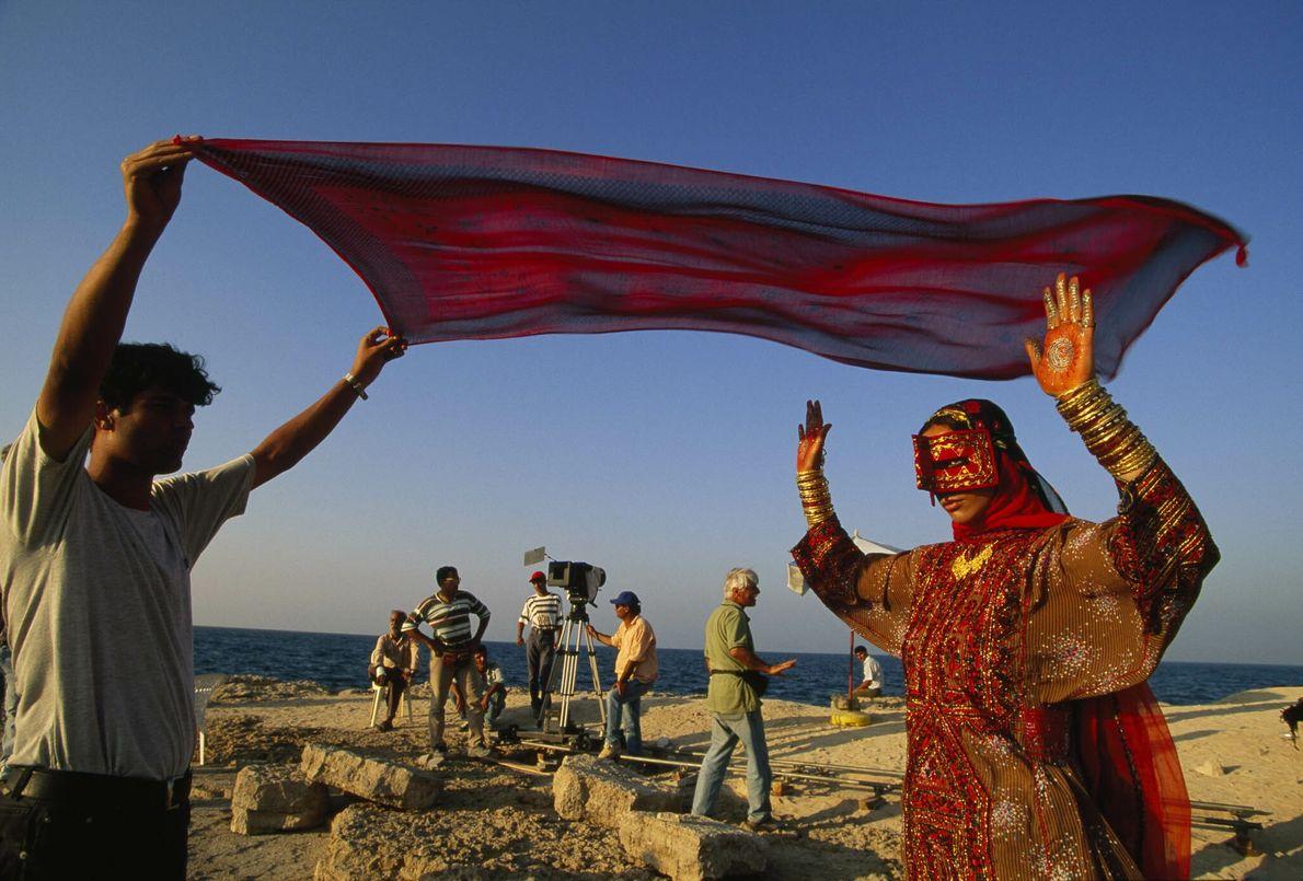 Filmando en Irán