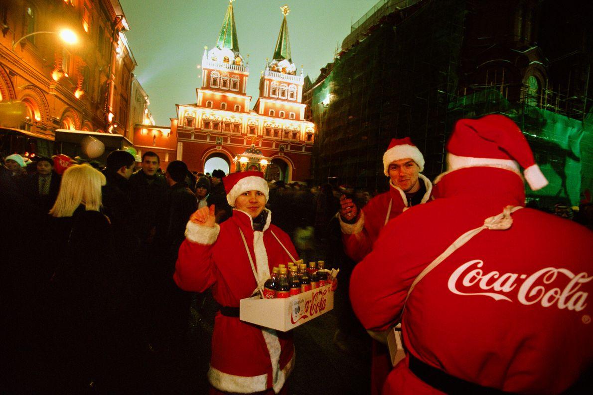 Año nuevo en Moscú