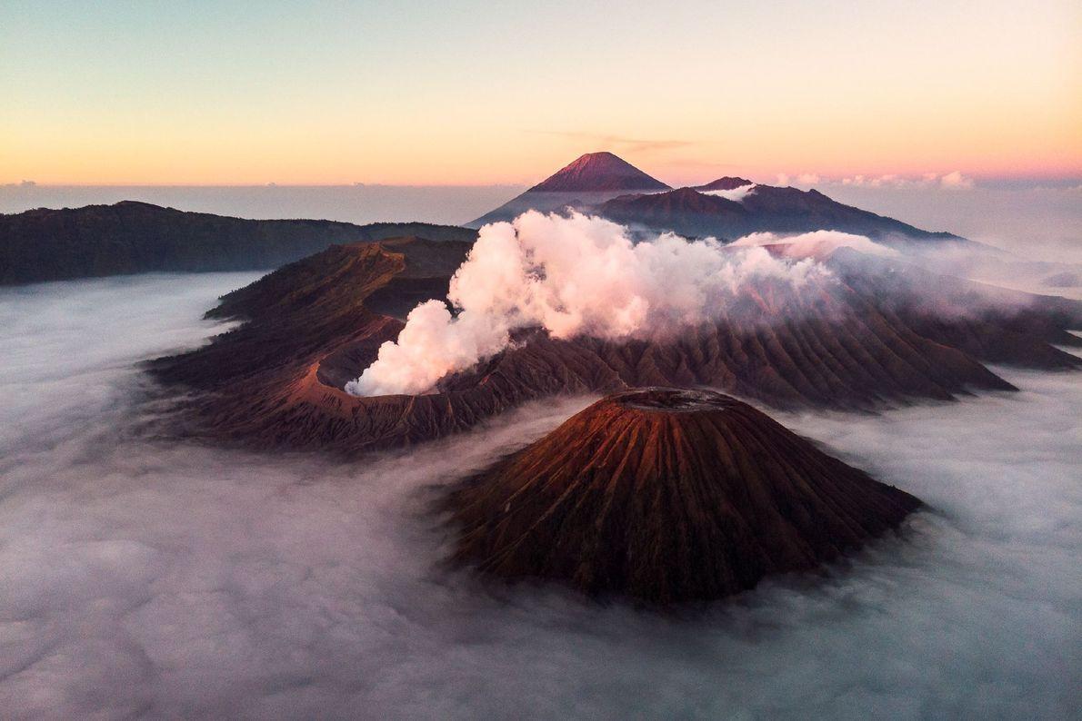 Sobre los volcanes
