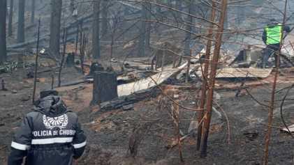 Incendios en la Patagonia argentina