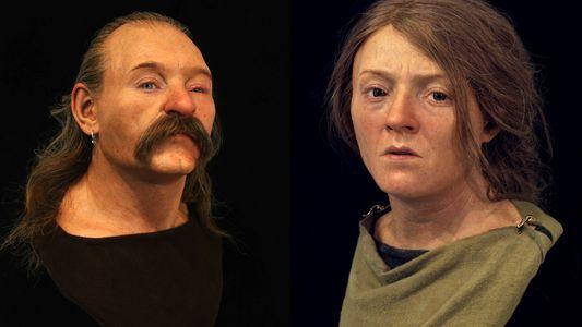 Reconstrucciones faciales revelan 40.000 años de linaje inglés