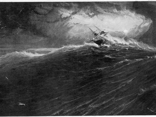 El bloqueo del Canal de Suez hizo que barcos se desviaran por un área caracterizada por ...