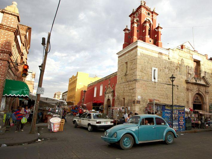 Volkswagen Beetle in Oaxaca, Mexico