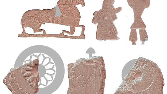 """El hallazgo de una """"fábrica de amuletos"""" vikinga ofrece una nueva interpretación sobre antiguos objetos enigmáticos"""