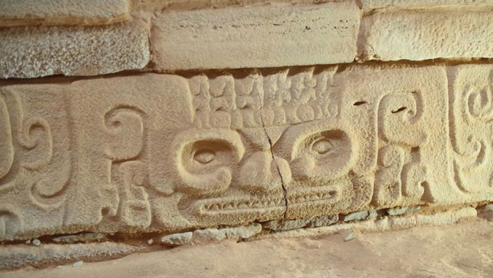 """Según señalaron los arqueólogos, es probable que los grabados en piedra desenterrados recientemente """"hayan conferido un ..."""