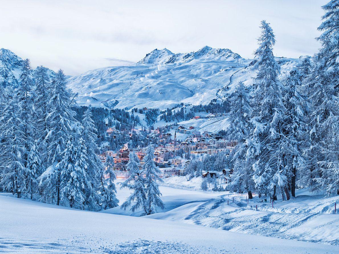 Valle de Engadina, Suiza