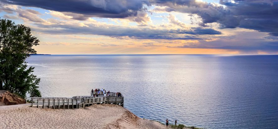 Sleeping Bear Point, Sleeping Bear Dunes, Michigan