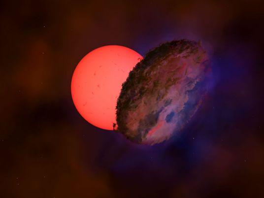 Investigan qué objeto misterioso pudo haber eclipsado a una estrella gigante durante 200 días