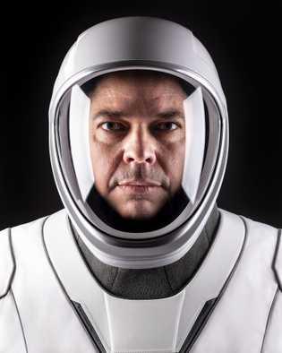Bob Behnken, comandante de operaciones conjuntas de la misión Demo-2 a la Estación Espacial Internacional.