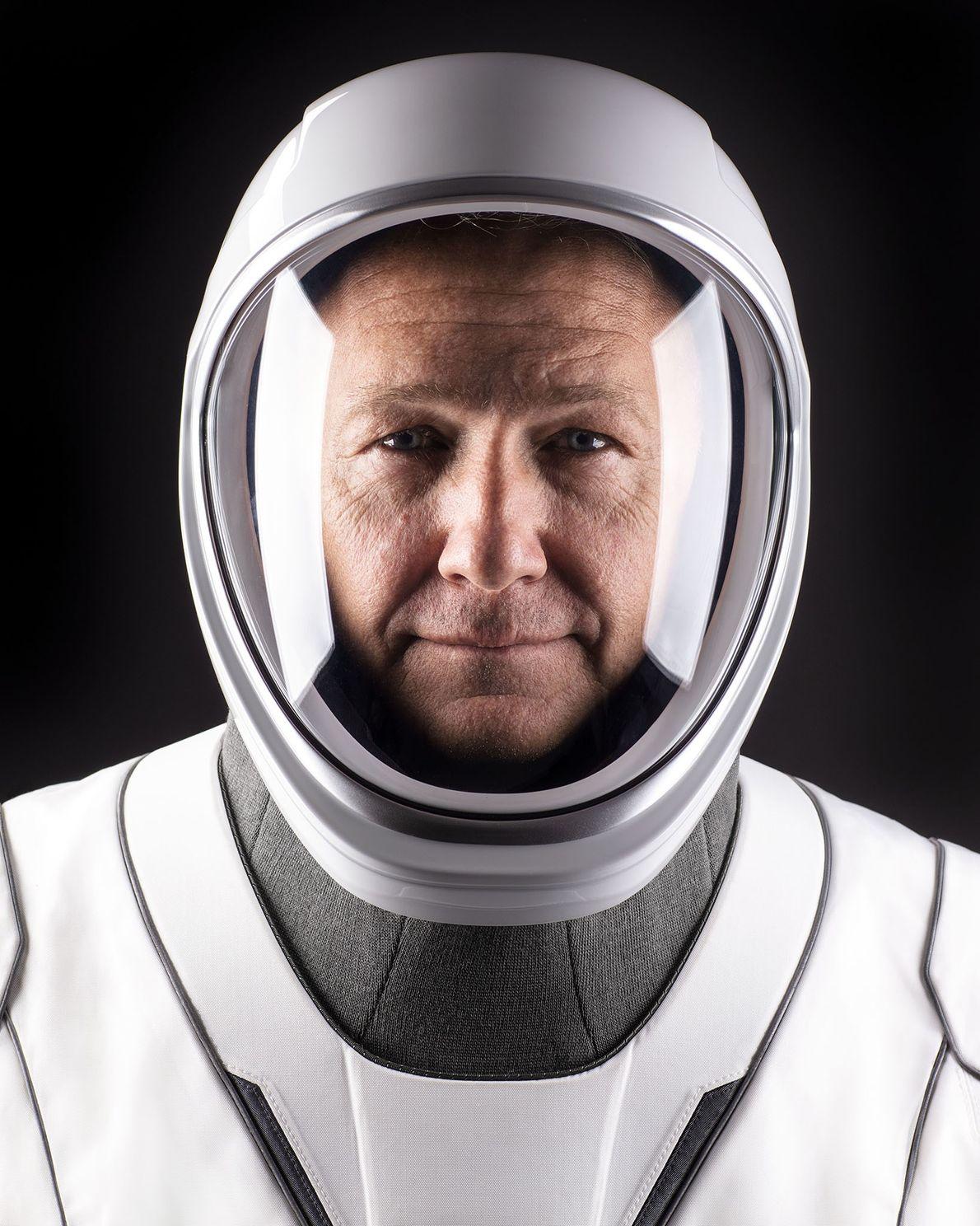 Doug Hurley, comandante de la nave espacial de la misión Demo-2 a la Estación Espacial Internacional.