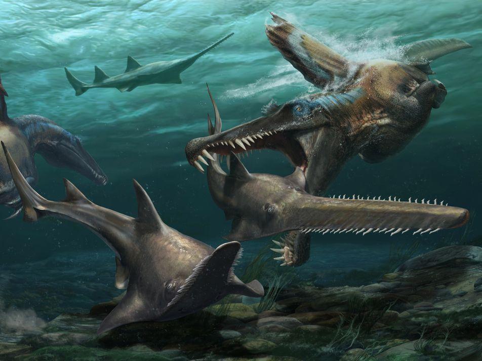 Hallazgos recientes abonan la teoría de que el Spinosaurus era un depredador acuático