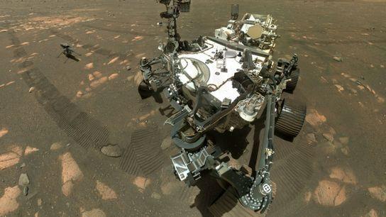 El rover Perseverance Mars de la NASA ha recolectado su primera muestra de roca para regresar ...