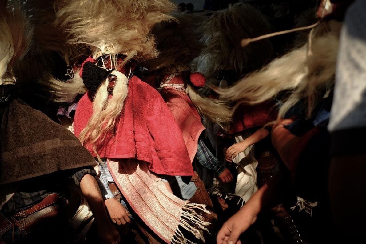 La danza de los tastuanes de Juchipila. Uno de los aspectos más complejos del ritual es …