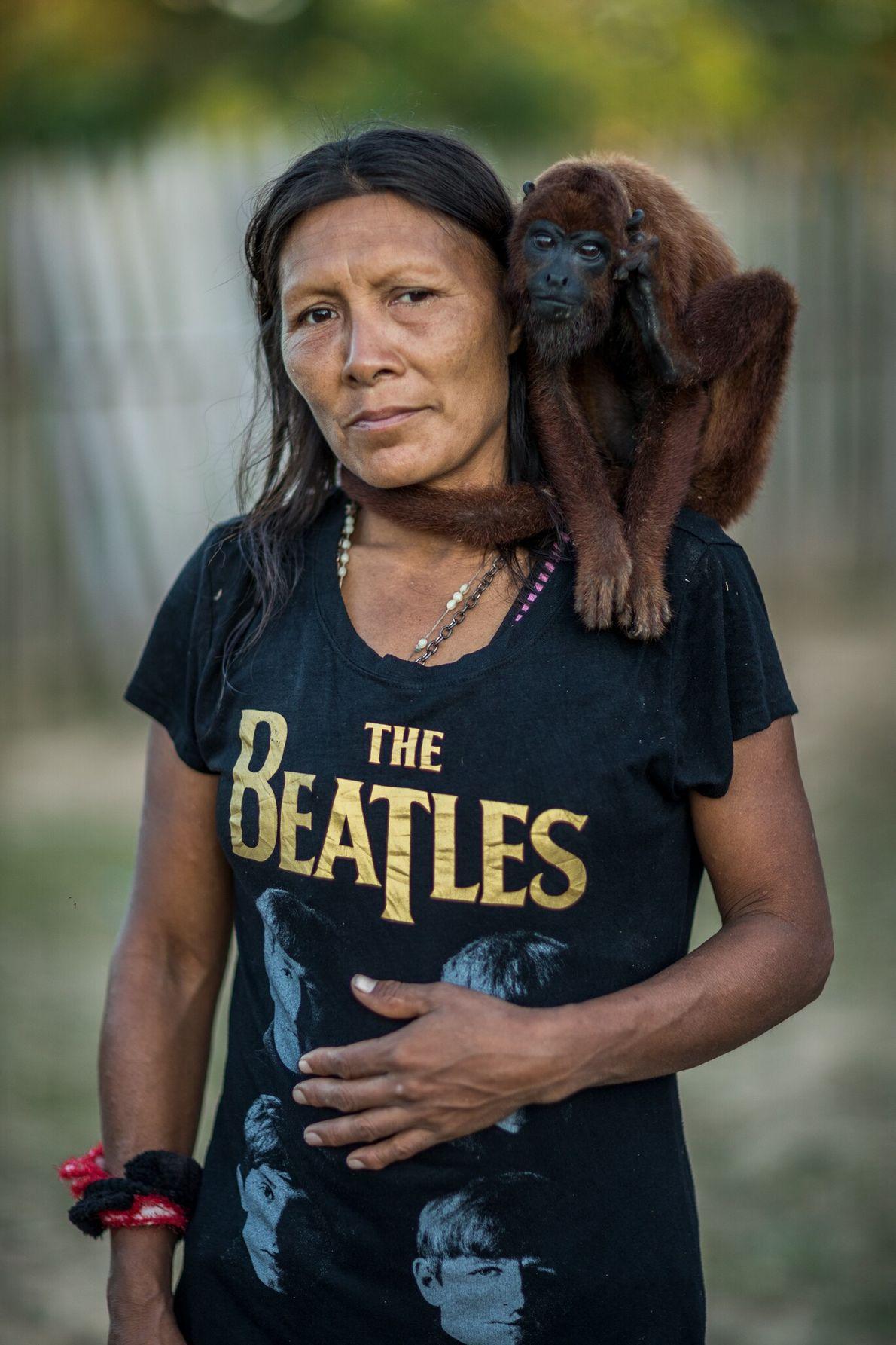En la década de 1990, los madereros decidieron apartar del bosque a Rosaura Vásquez Ríos y ...