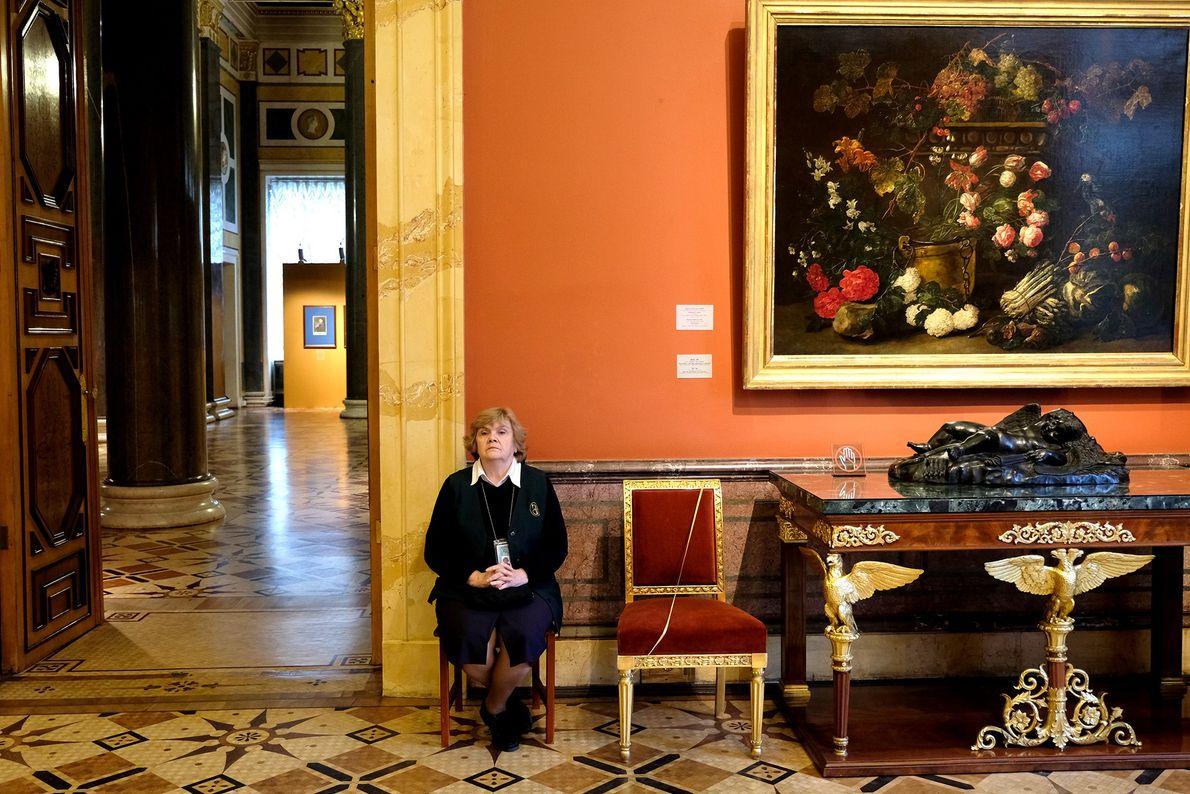 Más de tres millones de turistas visitan el Hermitage cada año.