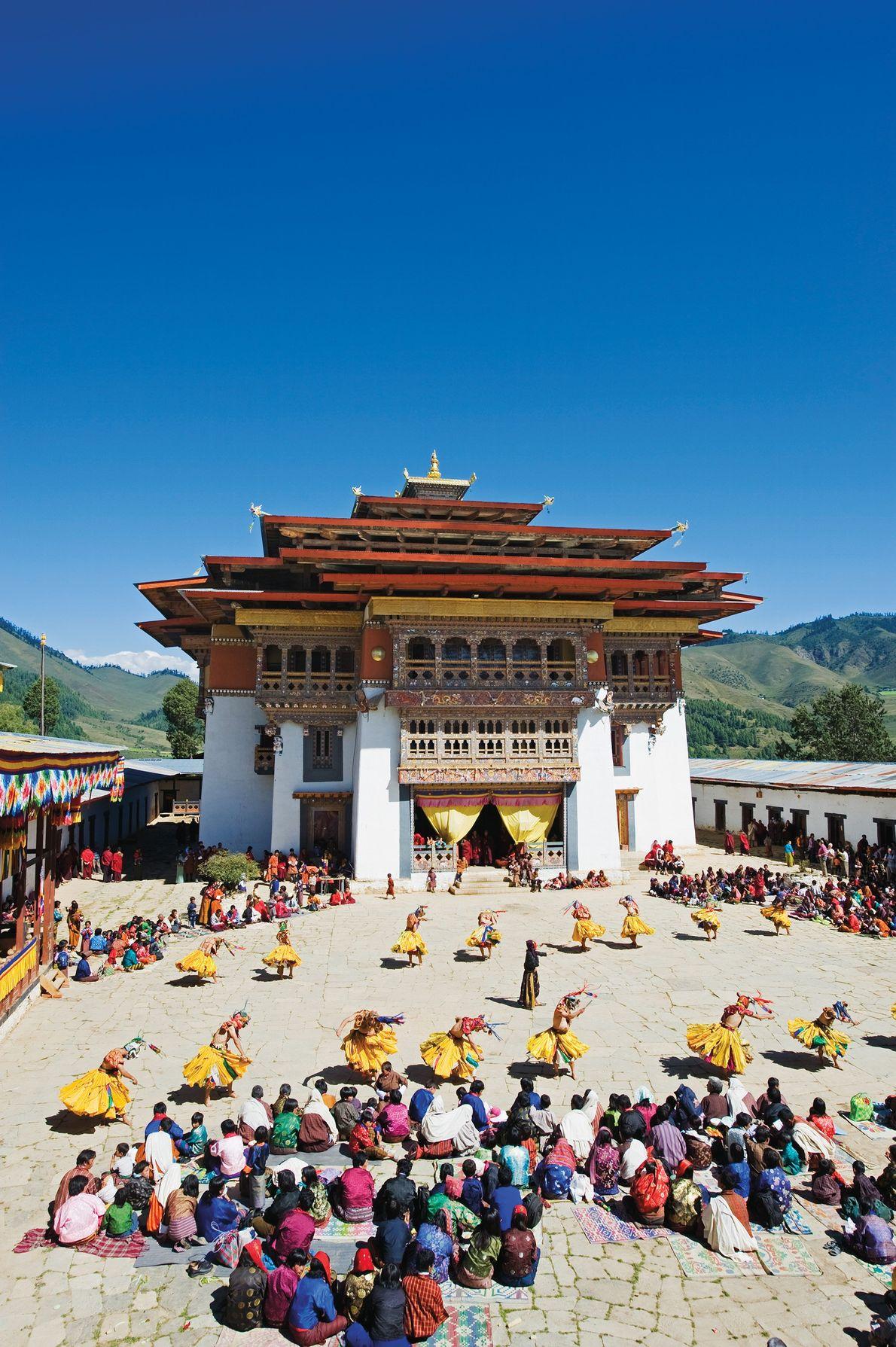 Valle de Gangtey, Bután