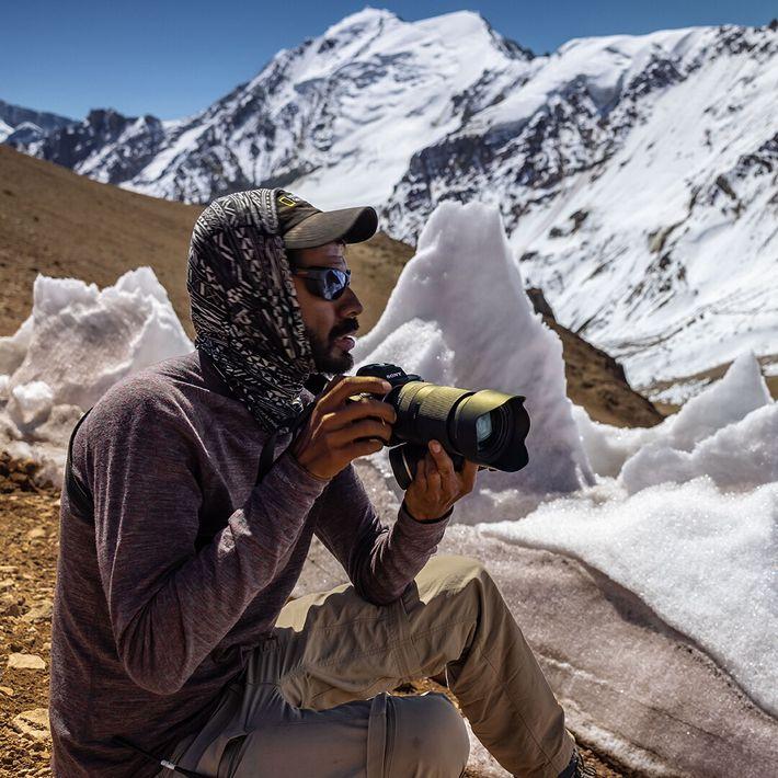 Armando Vega, fotógrafo mexicano y explorador de National Geographic.