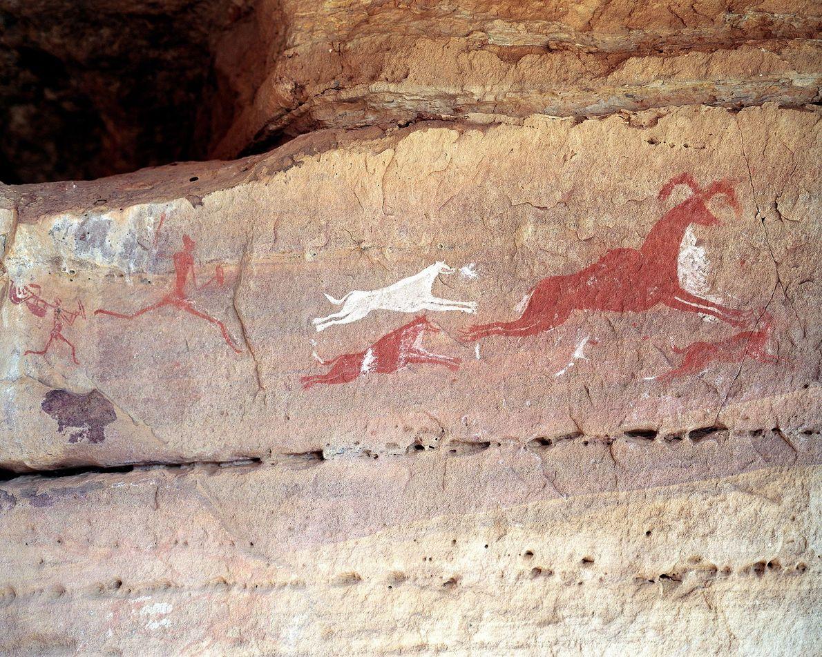 Rock art of Tadrart Acacus, Libya