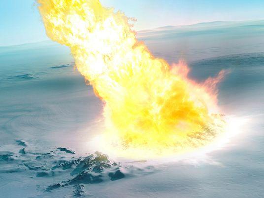 Hace 430.000 años un meteoro explotó sobre la Antártida y dejó pistas en los restos