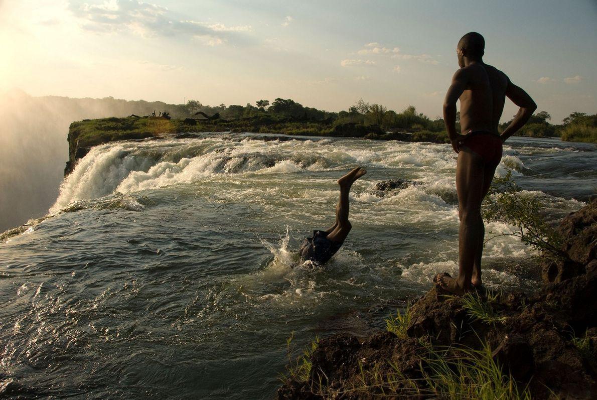 El clima extremo amenaza a una de las cataratas más asombrosas del planeta
