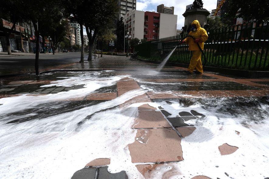 ¿Cómo se vive el COVID-19 en Latinoamérica?: imágenes desde La Paz, Bolivia