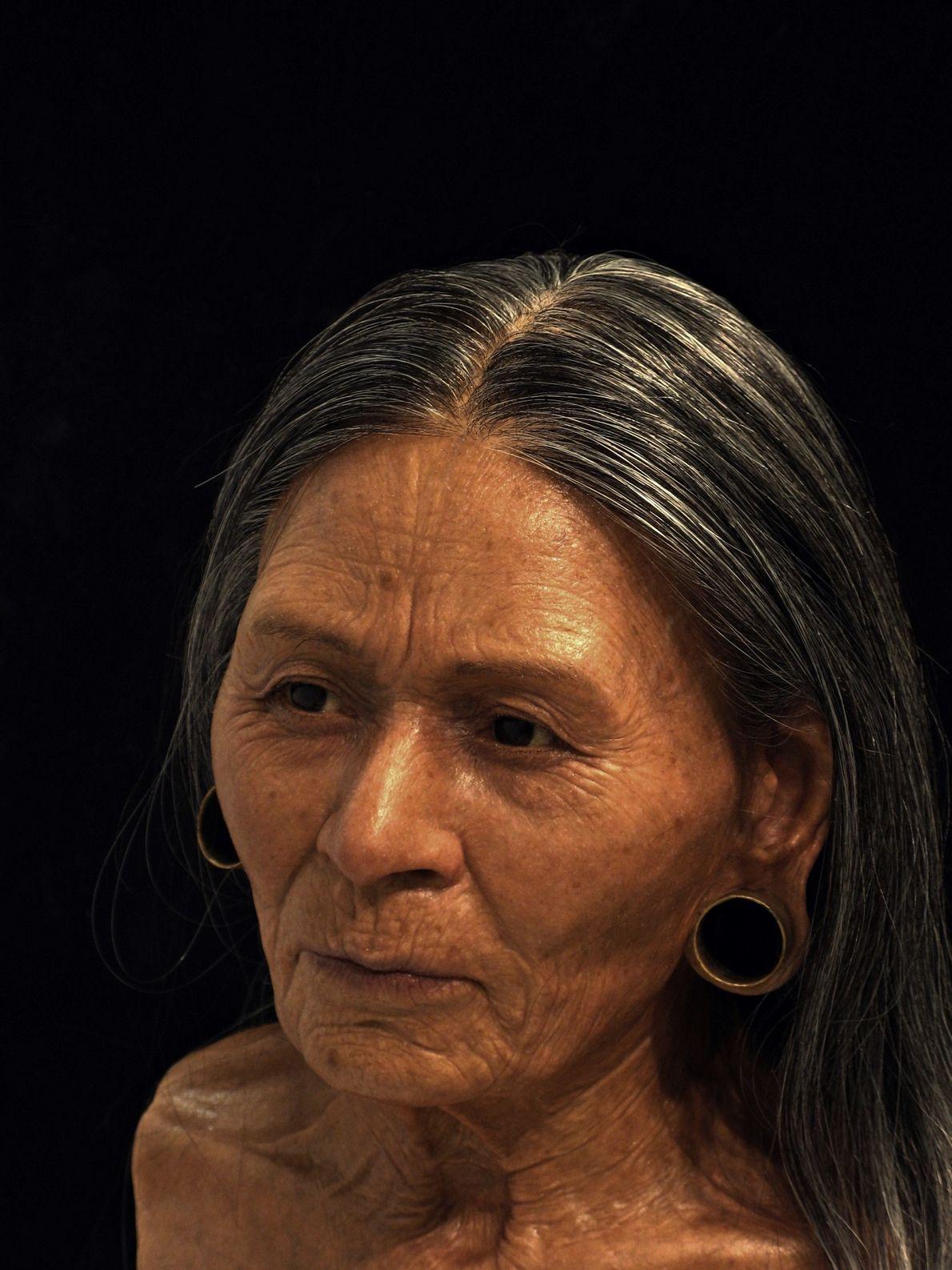 La reconstrucción de la «Reina de Huarmey» se basa en sus restos de 1.200 años hallados ...