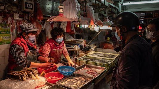 """Es probable que los """"mercados húmedos"""" introdujeran el coronavirus"""