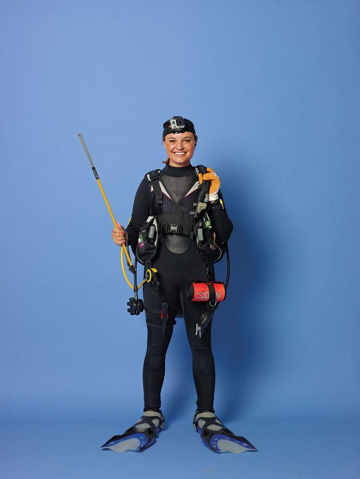 La exploradora de National Geographic Erin Spencer se unió a la comunidad mediante una beca Explorer ...