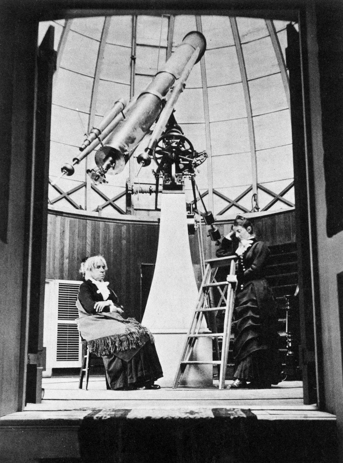 María Mitchell fue la primera mujer estadounidense en trabajar como astrónoma. En 1847, descubrió un cometa ...